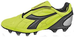 Diadora DD-Eleven LT MG 14 Soccer Cleats - Yellow