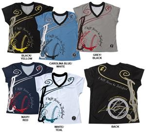 Combat Lisa Fernandez V-Neck Shirts
