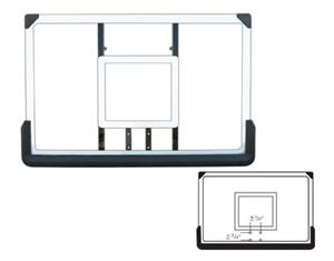 "Acrylic 30""x 44"" Replacement Basketball Backboards"