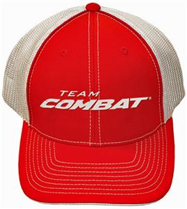 Team Combat Trucker Hat - Flex Fit or Adjustable