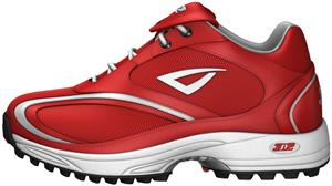 3n2 Momentum Trainer Lo Softball Shoes Red