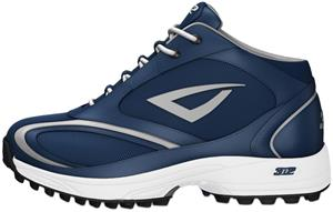 3n2 Momentum Trainer Mid Softball Shoes Navy