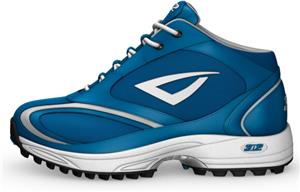 3n2 Momentum Trainer Mid Softball Shoes Royal