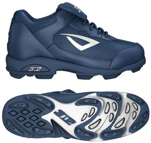 3n2 Rookie Youth Softball Baseball Cleats Navy