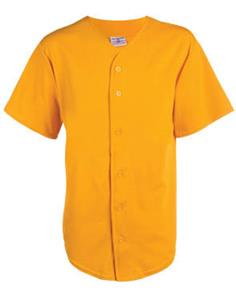 Teamwork Hot Corner Poly/Cotton Full Button Jersey