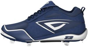 3n2 Womens Rally Fastpitch Metal Cleats Navy