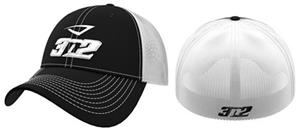 3n2 Flex Fit Classic Trucker Baseball Cap Black