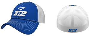 3n2 Flex Fit Classic Trucker Baseball Cap Royal