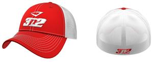 3n2 Flex Fit Classic Trucker Baseball Cap Red