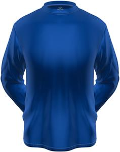 KZONE Cool Long Sleeve Shirt Loose Fit Royal