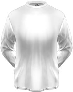 KZONE Cool Long Sleeve Shirt Loose Fit White