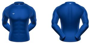 3n2 KZONE Warm Long Sleeve Shirt Tight Fit Royal