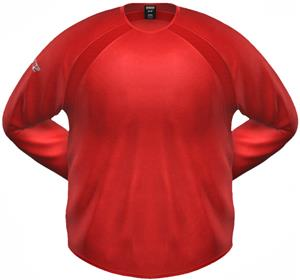 3n2 KZONE RBI Pro Ribbed Fleece Shirt Red