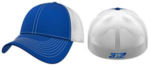 3n2 Flex-Fit Team Trucker Baseball Cap Royal