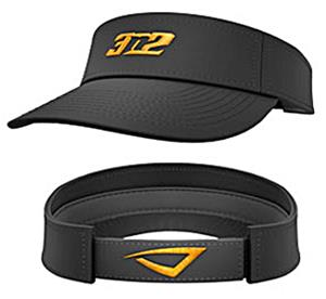 3n2 Low Crown Visor Black/Orange