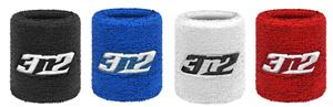 3n2 Fiber Weave Sweatband Wristbands 2.5&quot; or 4&quot;