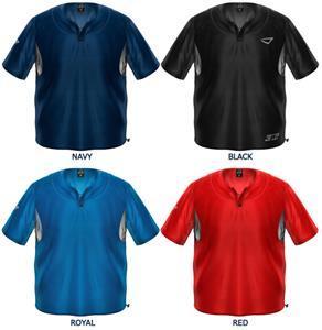 3n2 Short Sleeve Bullpen Baseball Pullovers