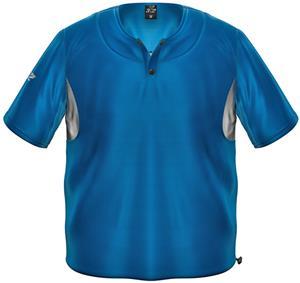 3n2 Short Sleeve Bullpen Baseball Pullover Royal