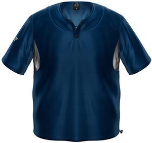 3n2 Short Sleeve Bullpen Baseball Pullover Navy