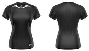 3n2 Womens Practice Training Shirt Black