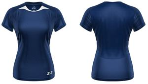 3n2 Womens Practice Training Shirt Navy