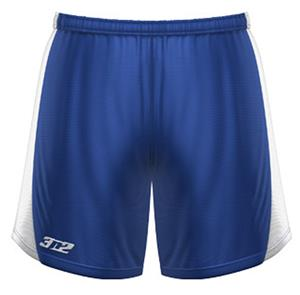 3n2 Womens Polyzone Fabric Practice Shorts Royal