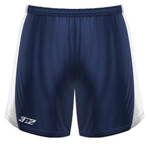 3n2 Womens Polyzone Fabric Practice Shorts Navy