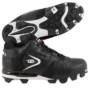 ACACIA Adult Fielder's Choice-Mid Baseball Cleats