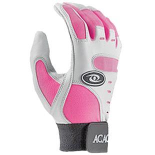 ACACIA Youth Pink Home Run Baseball Batting Gloves
