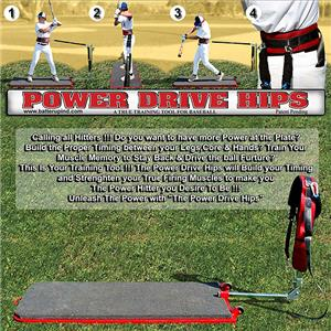 Batter Up Baseball Power Drive Hips Training Aid