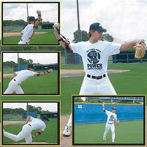 Baseball Pitch-N-Throw Brace Training Aid