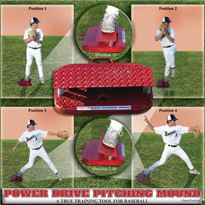 Baseball Pro Power Drive Pitching Mound