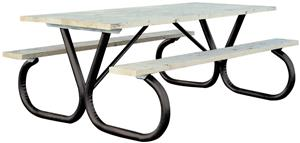 "TC Sports Knockdown 2"" Picnic Table (Frame Only)"