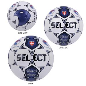Select Futsal Jinga &amp; Jinga Jr. Blue Soccer Balls