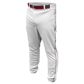ALL-STAR UNHEMMED Youth Baseball Pants with Piping