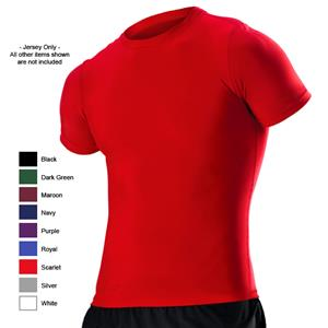 Alleson Adult Short Sleeve Compression Jerseys CO