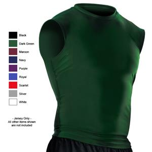 Alleson Youth Sleeveless Compression Jerseys CO