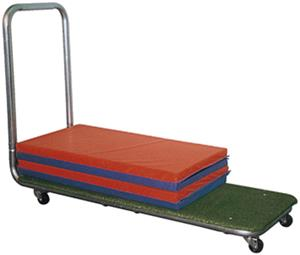 TC Sports Mat Storage Transport Cart 6' L x 2' W
