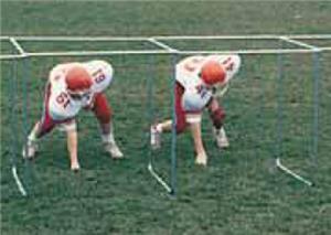 TC Sports Football Lineman 1, 3 or 5 Chutes