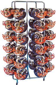 Football Helmet Rack Cart 40, 60, 80 Holder
