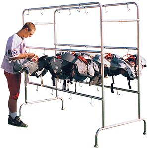 Football Combo Helmet /Shoulder Pad Racks