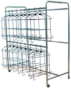 Football Uniform Hanger Rack - Holds 48 Uniforms