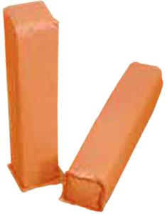 Weighted Orange Foam Corner Goal Markers Football