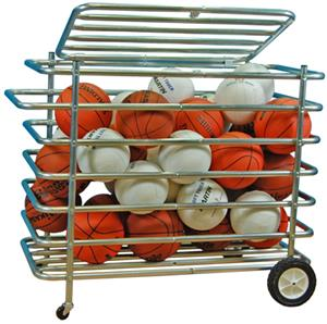 Heavy Duty Security Ball Locker Cart