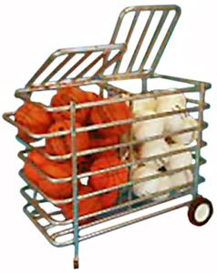 Heavy Duty Double Sided Security Ball Locker Cart