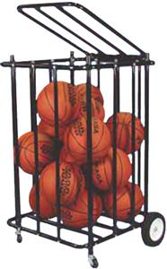 Super Heavy Duty Locking Ball Storage Unit Cart