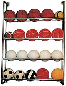 TC Sports Wall Mounted Ball Rack