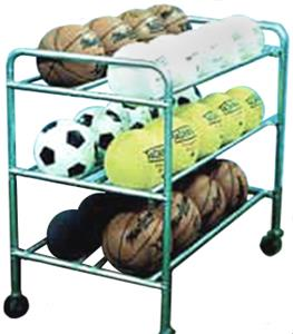 TC Sports Double Wide Econo Ball Caddie Cart