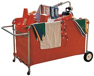 TC Sports Vinyl Storage All Sports Cart