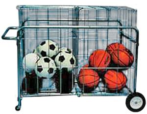 TC Sports Double Basket Portable Carrier Cart